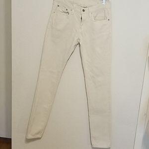 Polo Ralph Lauren Tompkins skinny beige jean